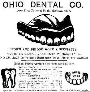1880s Dental Ad GraphicsFairy