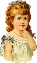 clip art girl-white-dress AntiqueClipArt.jpg
